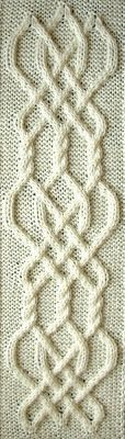 Ivanova and Carter Knit: Celtic Knot Project