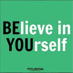 BE YOU. #FitSpiration #FitFluential. Are you on Instagram? We are too! Click the pic to find us and connect with others in the #FitFam.