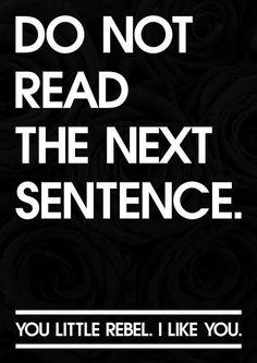 Obey!!!!