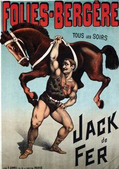 Unknown author, Jack de Fer, Folies-Bergère, Paris.