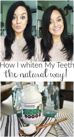 Oil Pulling - How I Whiten My Teeth -