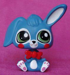 Kawaii Toy Bonnie FNAF Five Nights at Freddy's Custom figure Littlest pet shop  #Hasbro