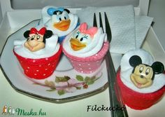 Mickey egér és barátai játék süti szett (Filckucko) - Meska.hu