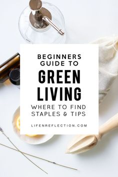 20 Must Have Green Living Essentials - Natürlich leben / Natural LivingA beginner's guide to green, sustainable and eco-friendly living. Eco Friendly Cleaning Products, Natural Cleaning Products, Natural Living, Organic Living, Green Living Tips, Natural Lifestyle, Eco Friendly House, Green Life, Go Green