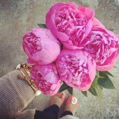 peonies! My favorite flowers that remind me of spring and are just gorgeous!!