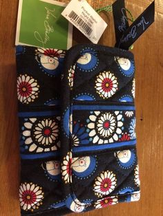 NWT Vera Bradley Pocket Wallet Night Owl #VeraBradley #Trifold