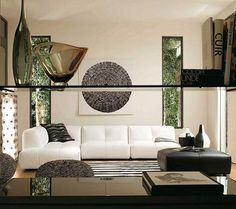 Salon decorating on pinterest vintage salon decor - Decorar salon en l ...