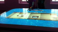 Maritime Museum Touchtable Interface by Che Che Check. For the dutch Maritime Museum in Amsterdam we designed the interface, motion graphics and visual interior aspects for the touchtable-room and the panoramic projection-room.