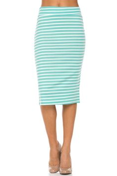 2LUV Women's Knee Length Bodycon Pencil Skirt at Amazon Women's Clothing store: