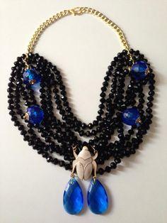 Collares, necklace, cristales, jewelry bisutería