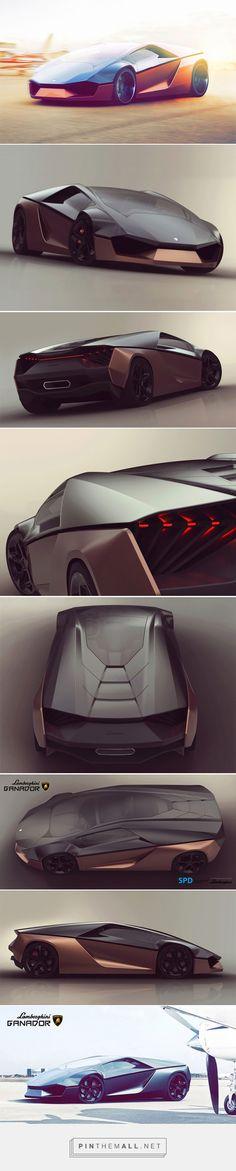 Lamborghini Ganador Concept by Mohammad Hossein Amini Yekta Mais