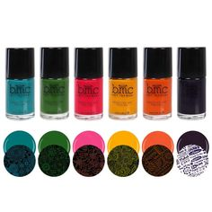 BMC 6pc 2nd Generation Creative Nail Art Stamping Polishes - Essentials: Brights * This is an Amazon Affiliate link. Learn more by visiting the image link.