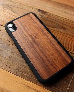 07b8d73884 丈夫なハードケースと天然木を融合したiPhoneXR木製ケース