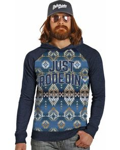 d95810fc943e7 Dale Brisby Men s Just Rodeoin  Hoodie