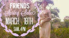 Annual Friends Spring Sale!