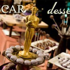 Oscar Party Desserts {Adult Party Ideas}