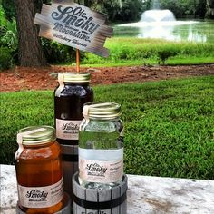A little Ole Smoky makes your day that much better! #backyard #bbq #summer