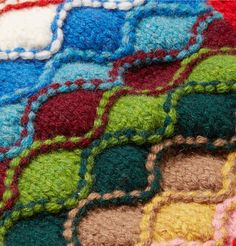 PRADA Intarsia Shetland Wool Cardigan