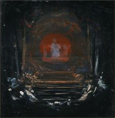Nikolaos Gyzis (Greek, Behold the Celestial Bridegroom, Beginning in Nikolaos Gyzis spent the last 6 years of his life painting variations on a swirling orbit of angels and. Greek Paintings, Gothic Metal, 10 Picture, Art Database, Celestial, Fantastic Art, Aesthetic Art, Art Reproductions, Les Oeuvres
