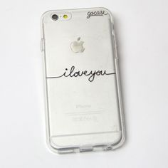 Custom Phone Case I Love You (Custom) iPhone 7/7 Plus/6 Plus/6/5/5s/5c Case Tags: accessories, tech accessories, phone cases, electronics, phone, capas de iphone, iphone case, white iphone 5 case, apple iphone cases and apple iphone 6 case, phone case,