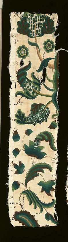 crewel work 17th century - Google Search