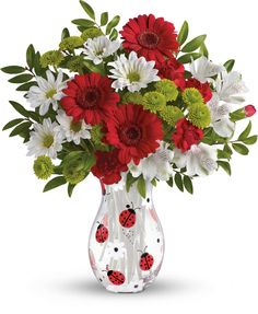 Telefloras Lovely Ladybug Bouquet too cute