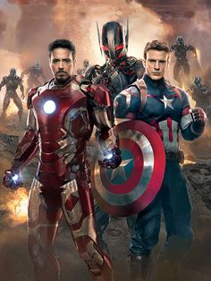 Tony Stark, Steve Rogers, and Ultron || The Avengers: Age of Ultron || #promo