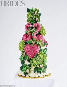 The Flamingo Love Cake By Choccywoccydoodah,£1,945 (serves 220), choccywoccydoodah.com