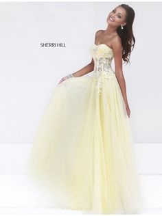 Sherri Hill Prom Dresses 2014 | Home Sherri Hill 11135 Prom Dress 2014