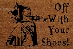 Off With Your Shoes! Queen of Hearts Alice in Wonderland Custom Handpainted… Alice In Wonderland Garden, Wonderland Party, Queen Of Hearts Alice, Chesire Cat, Up House, Disney Home, Gothic House, Home And Deco, My Dream Home