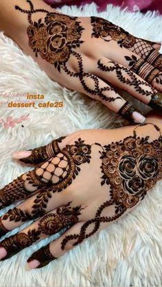 Latest Arabic Mehndi Designs, Floral Henna Designs, Finger Henna Designs, Back Hand Mehndi Designs, Mehndi Designs Book, Mehndi Designs For Girls, Mehndi Designs For Beginners, Mehndi Design Photos, Mehndi Designs For Fingers