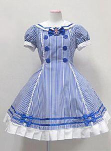 Alternative Alice Costume pair with combat boots