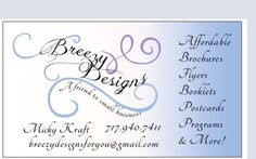 Check out Breezy Designs' Affordable Graphic Design