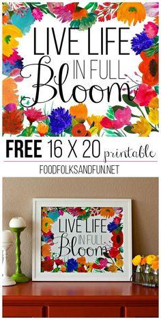 Free 16 x 20 printab