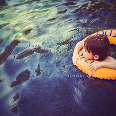 by Leah Zawadzki    Love shots in the pool....