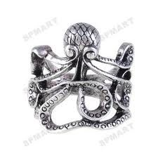 Everybody needs an octopus ring