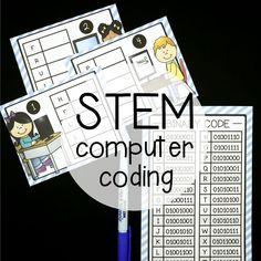 STEM Challenge: Write Computer Coding by Playdough to Plato Stem Activities, Activities For Kids, Writing Code, Start Writing, Scientific Method Posters, Computer Coding, Computer Science, Computer Laptop, Computer Tips