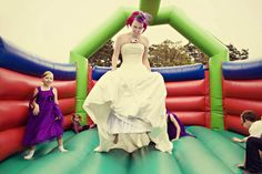 Love this photo. An After Show Party Themed Rock n Roll Wedding: Brett & Vicky