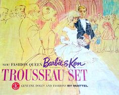 Barbie & Ken Trousseau Set