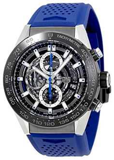 Tag Heuer Carrera Chronograph Automatic Mens Watch CAR2A1TFT6052 >>> Read more  at the image link.