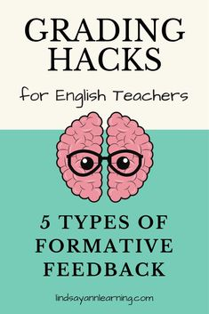 This fourth blog post in a series on grading hacks for English teachers focuses on five types of writing feedback and how to use them effectively during class to promote student revision and responsibility.