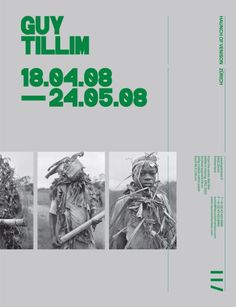 searchsystem:Spin / Haunch Of Venison / Guy Tillim / Poster /...