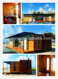 foldable shipping container home container luxury villa
