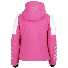 Bogner Demi D Girls Ski Jacket in Pink Childrens Ski Wear, Ski Wear Brands, Girls Ski Jacket, Ski Girl, Skiing, Hoodies, Sweaters, Design, Fashion