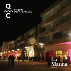 La nuit tombée, des lueurs créatives viennent illuminer la Marina. Ne manquez pas l'occasion de visiter le Quai des Créateurs. #LeQuaiDesCréateurs #LaMarinaMorocco #CaSePasseàLaMarina