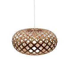 318€ David Trubridge - Kina Light Caramel - 45cm
