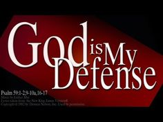"Psalm 59 Song ""God is My Defense"" (Christian Scripture Worship w/ Lyrics - Esther Mui Christian Movies, Christian Music, Praise The Lords, Praise And Worship, Psalm 68, Pastor David, Scripture Memorization, Praying To God, Because I Love You"