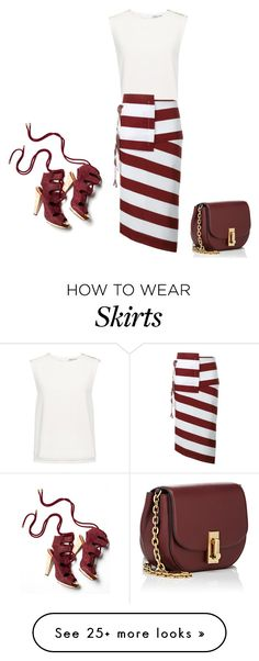 """Wrap Skirts"" by lovetodrinktea on Polyvore featuring Finders Keepers, N°21, Marc Jacobs and Derek Lam"