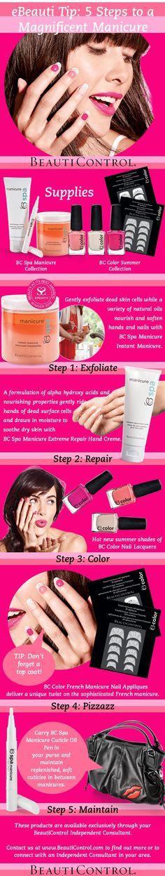 #BeautiControl #Manicure #NailArt #Nails #BeautiControl www.beautipage.com/amandapastore