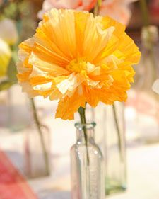Delicate paper flowers may not have the sweet-smelling fragrance of their living counterparts, but they'll certainly last a lot longer. Try crafting a paper peony or poppy -- or both! -- for someone special in your life.